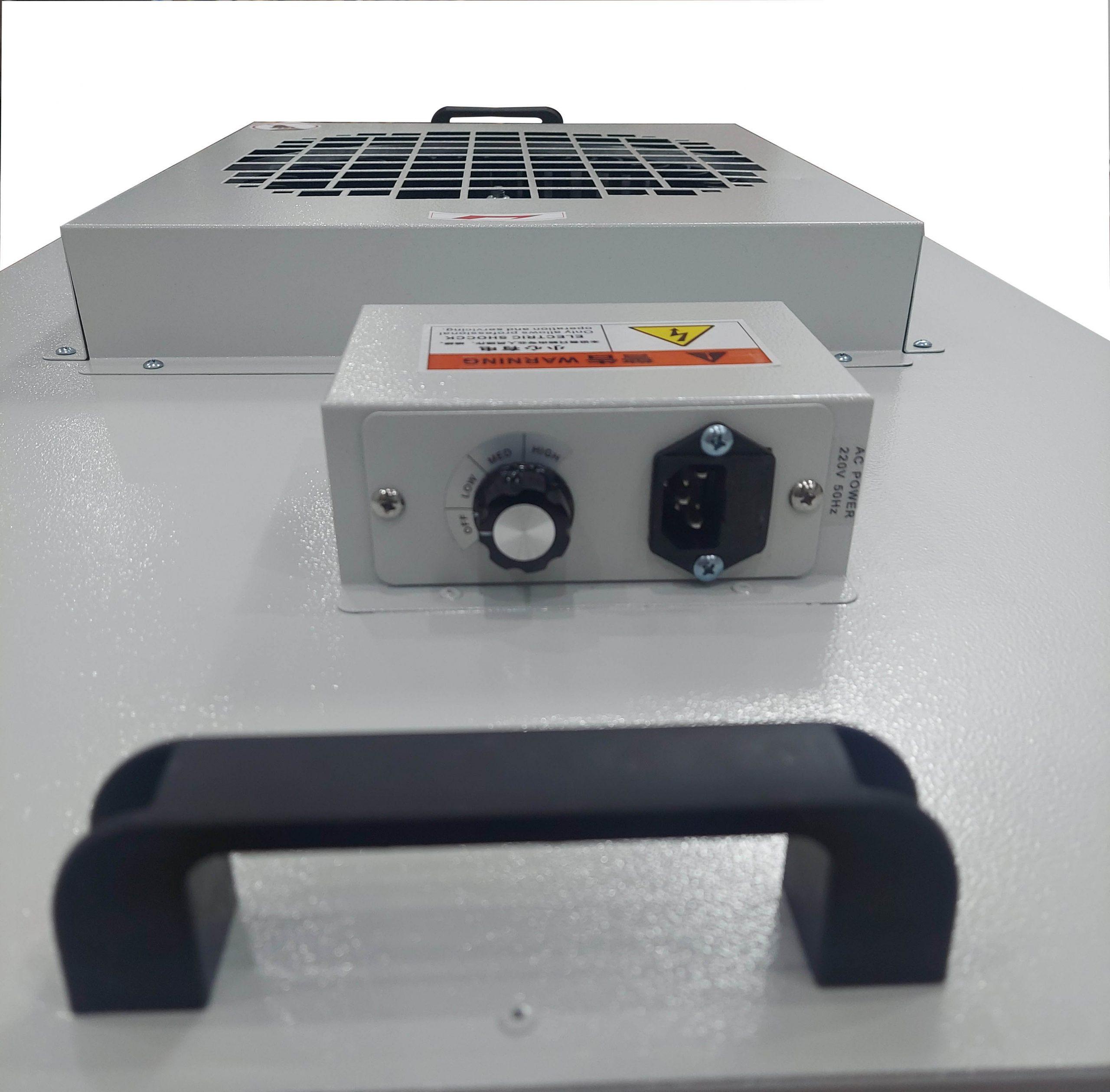 clean room fan filter unit control mode