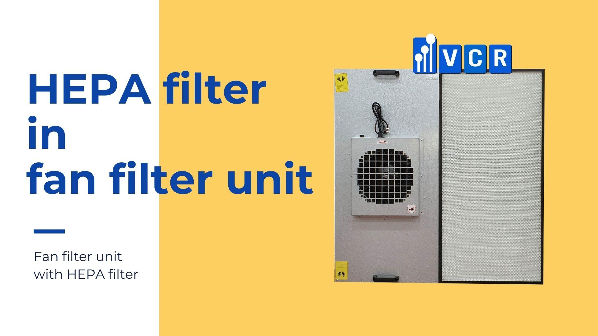 hepa filter in fan filter unit