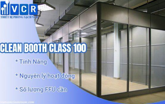 Clean Booth Class 100 - Phòng sạch di động