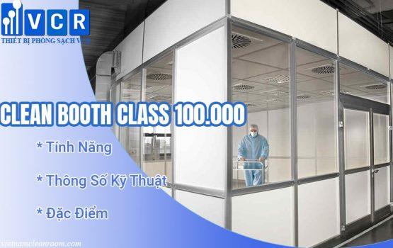 Phòng sạch di động - Clean Booth Class 100.000