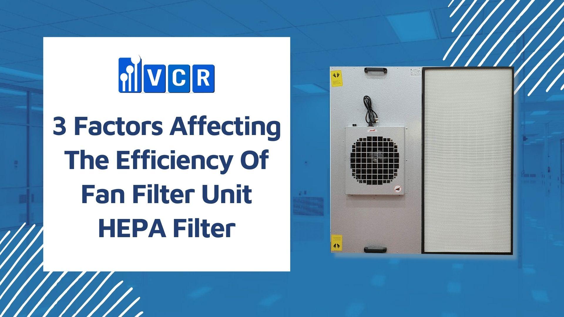 fan filter unit hepa filter